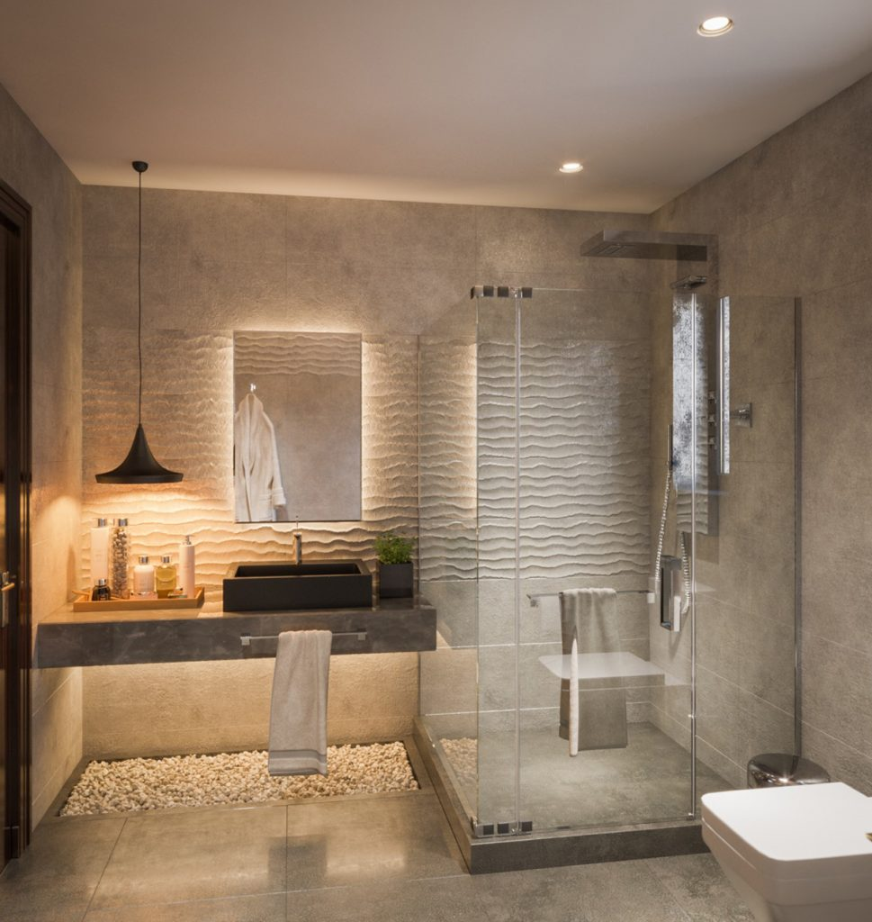 Rivestimenti Bagni Moderni Grigio bagni moderni: mobili, rivestimenti e accessori per comfort